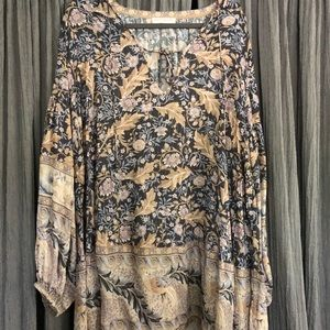 Spell & The Gypsy Collective Dresses - Spell & Gypsy Oasis L/S Mini Sz Large